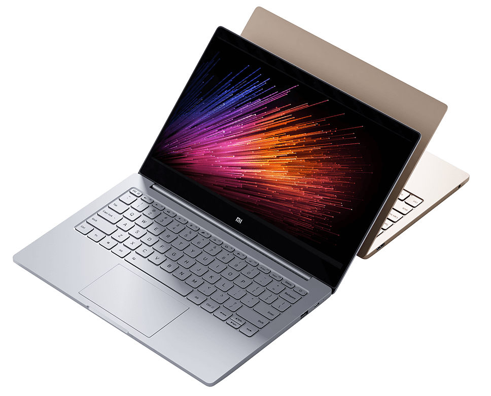 Xiaomi Mi Notebook Air Windows 10 laptop with slim metal body