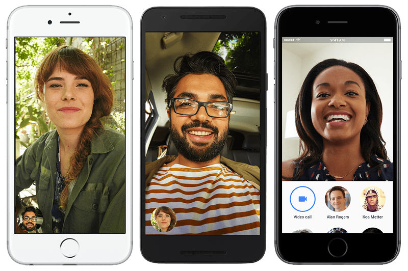 Google Duo for Android and iOS
