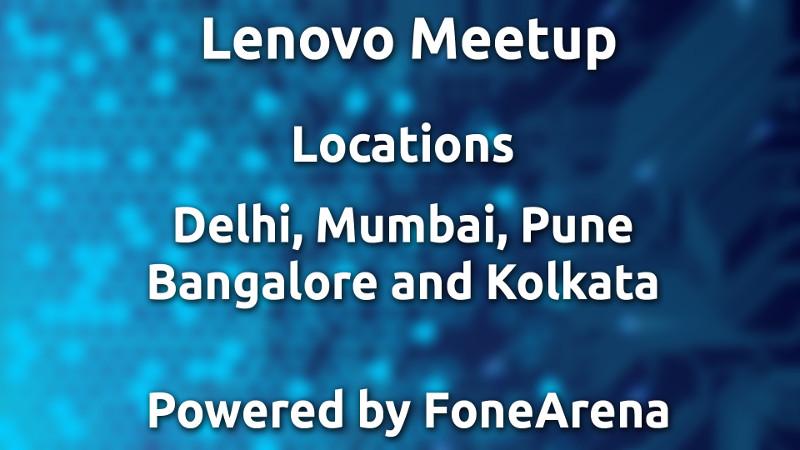 Lenovo Meetup