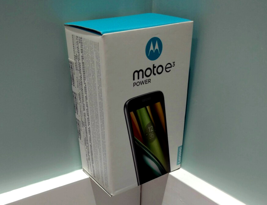 Moto E3 Power Box