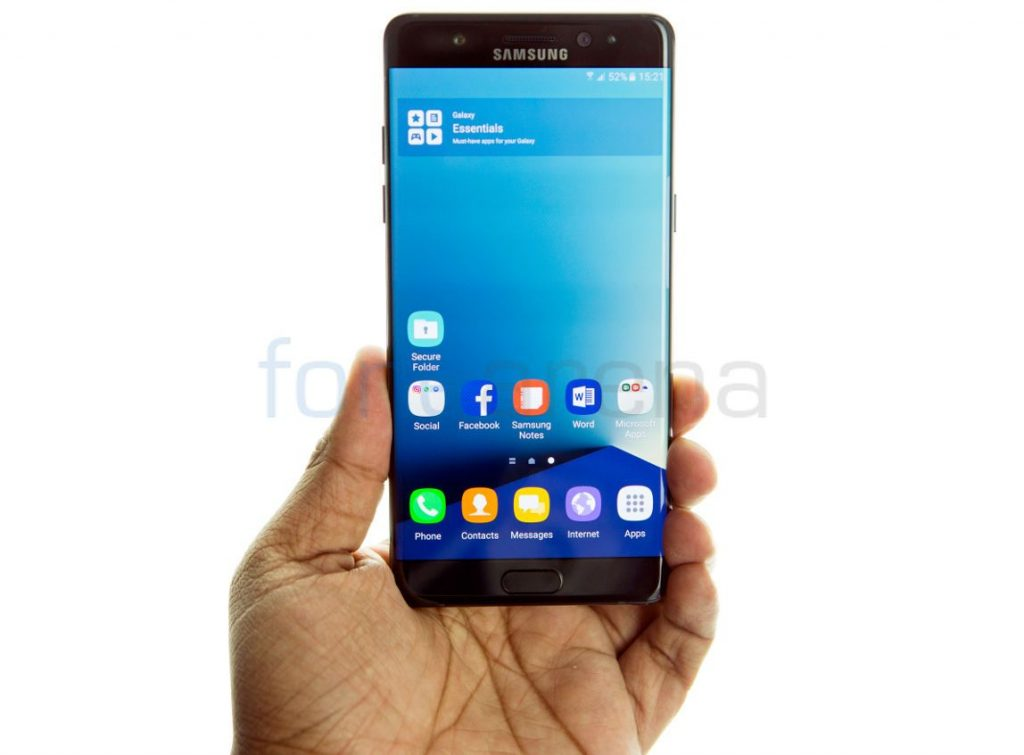 Samsung Galaxy Note7 Unboxing