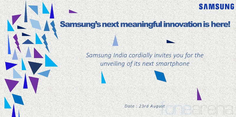 Samsung Z2 India launch invite