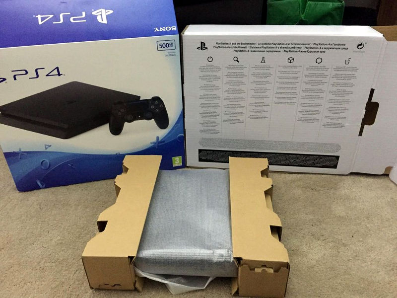 Sony PlayStation 4 Slim leak