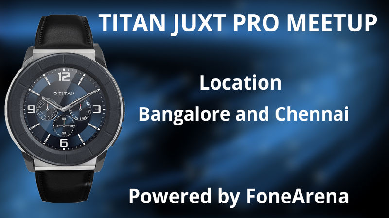 Titan Juxt Pro meetup