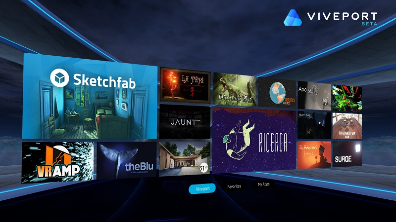 HTC introduces Viveport app store for VR experiences