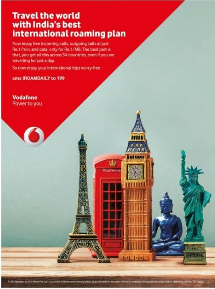 Vodafone launches International Roaming Daily Packs with ...