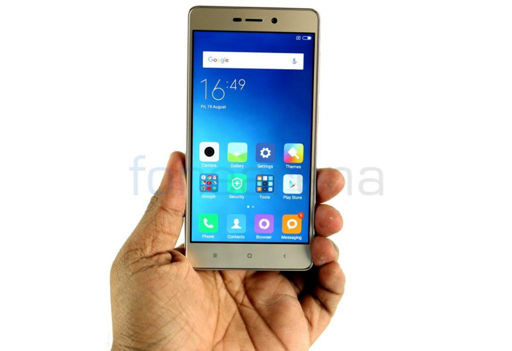 Xiaomi Redmi 3S+ with 5-inch display, fingerprint sensor, 4G VoLTE launched for Rs. 9499
