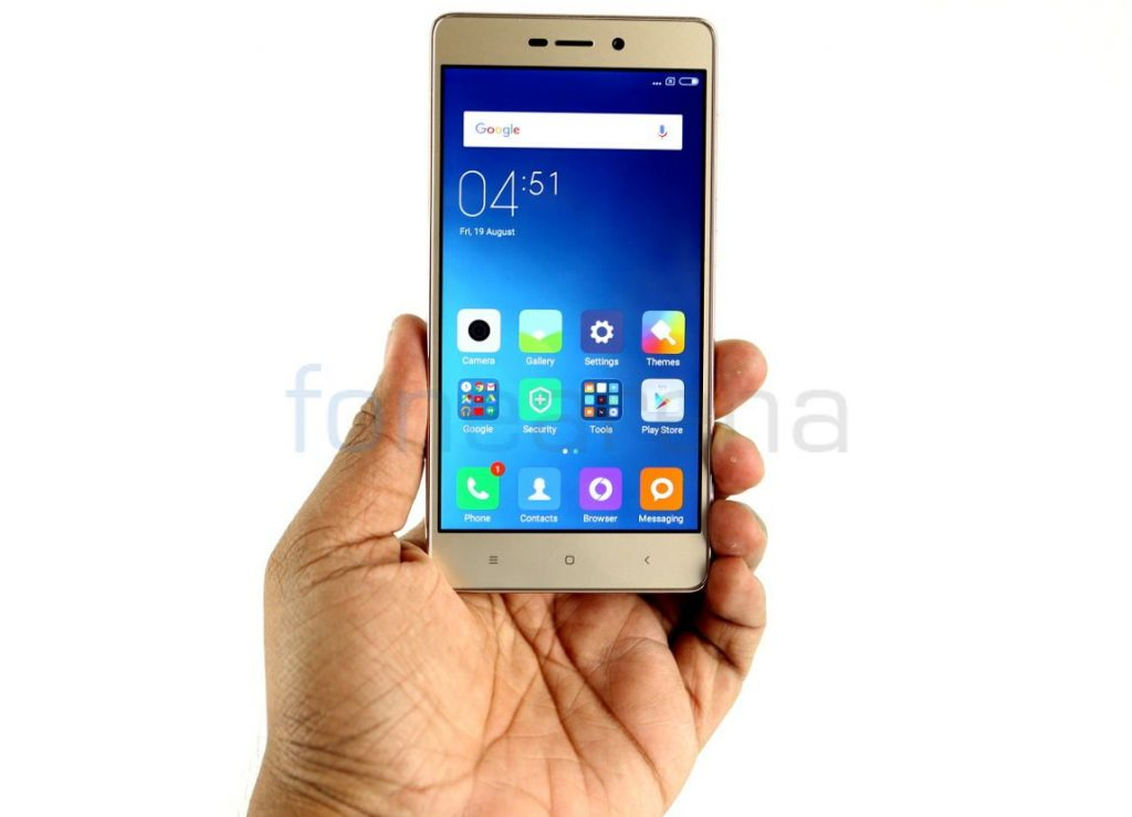 Xiaomi Redmi 3S sales cross 4 million, becomes highest selling smartphone online in India