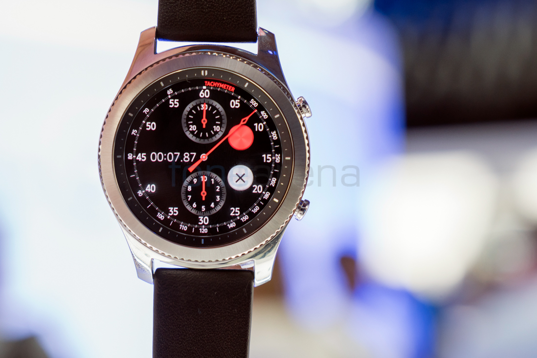 Samsung Gear S3 Classic Hands On and Photo Gallery