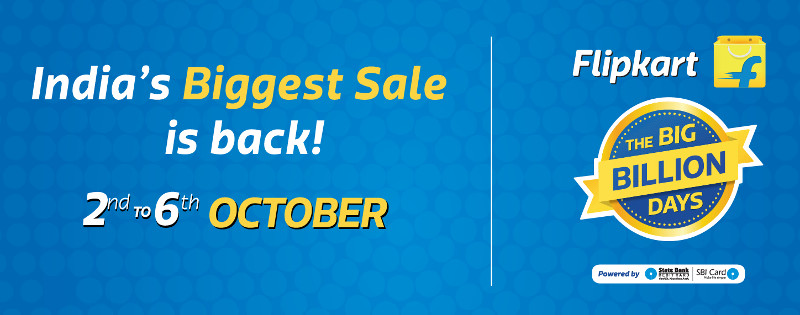 Online Shopping Sale: Flipkart's Big Billion Day Sales starts October 2. Image Courtesy: Fonearena