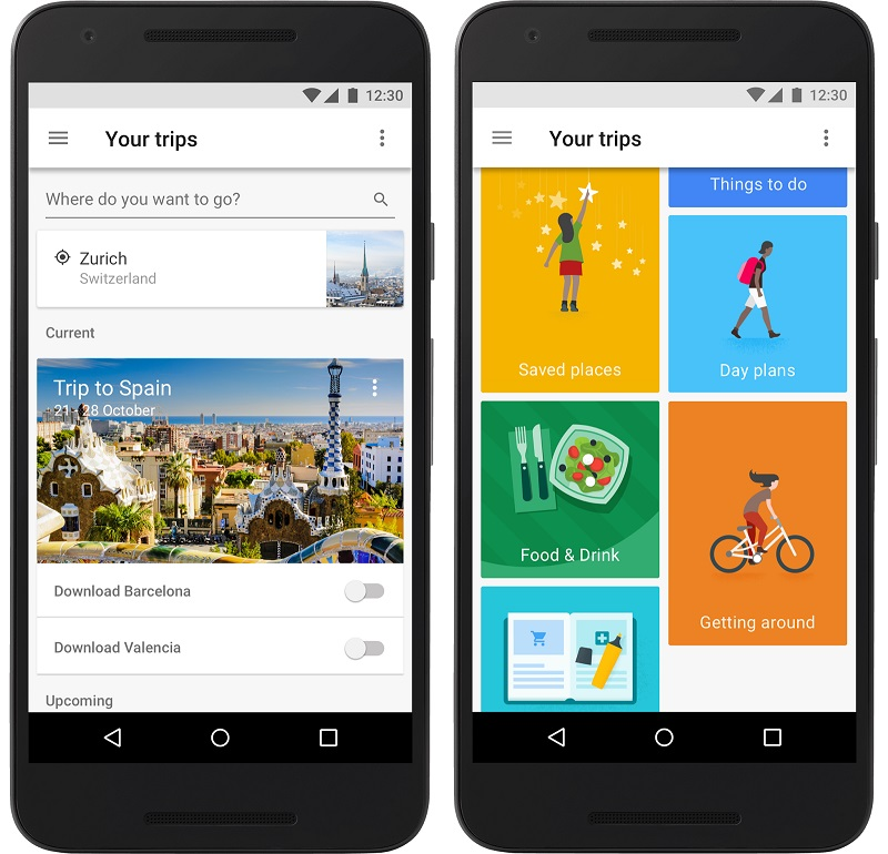 how to make a travel itinerary with google maps