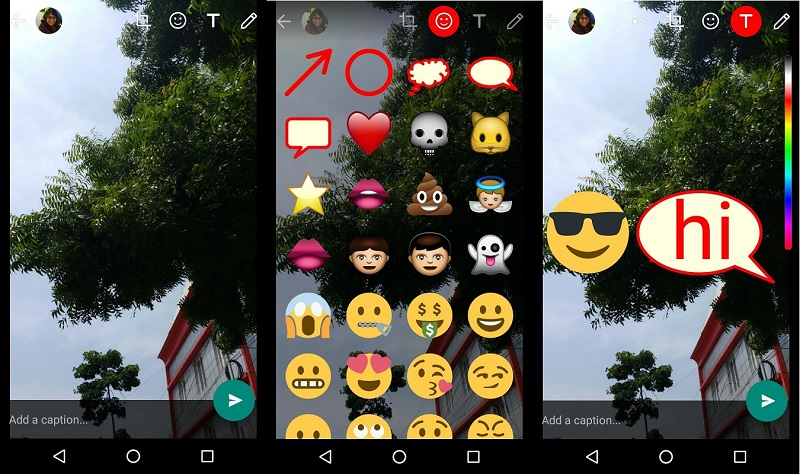 how to make emojis smaller on android