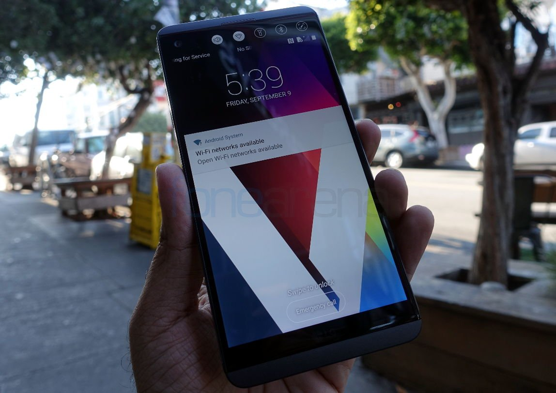 LG V20 Hands On and Photo Gallery