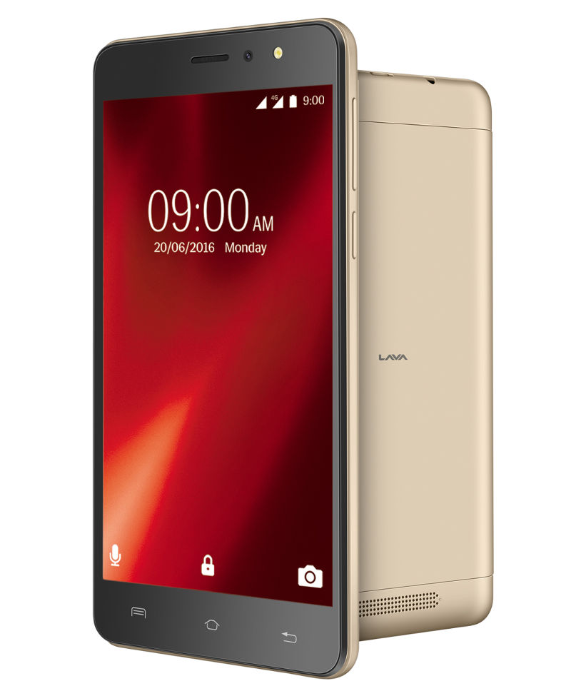 Lava X28 with 5.5-inch HD display, Android 6.0, 4G VoLTE ...