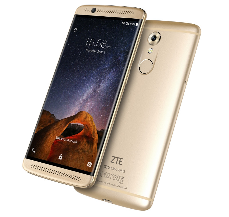 zte axon 7 mini with 5 2 inch 1080p display snapdragon 617 fingerprint sensor announced. Black Bedroom Furniture Sets. Home Design Ideas