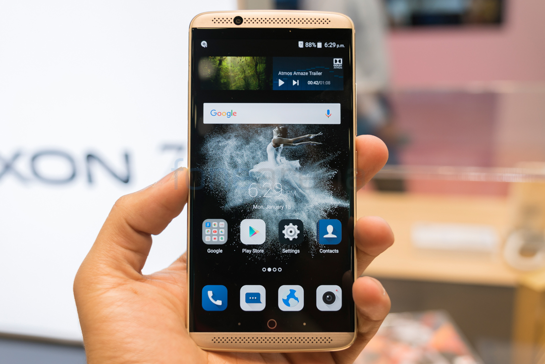 New zte axon 7 hands on this