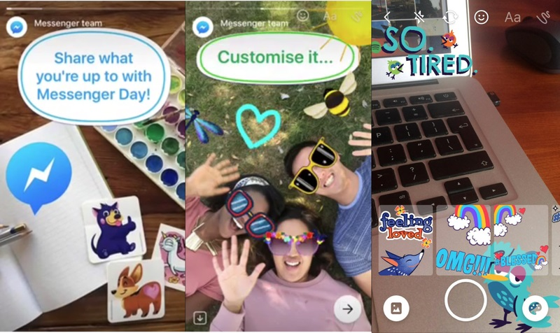 Facebook tests Snapchat Stories style feature for Messenger