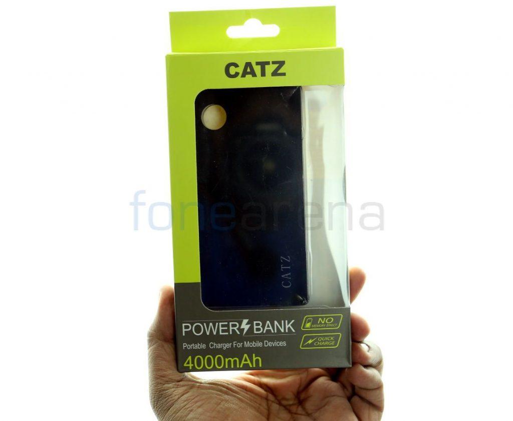 CATZ 4000mAh Power Bank Review