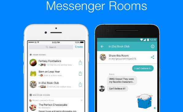 Facebook tests Rooms public group chat feature in Messenger