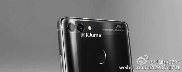 Huawei P10 with dual rear Leica cameras surface