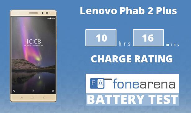 Lenovo Phab 2 Plus Battery Life Test