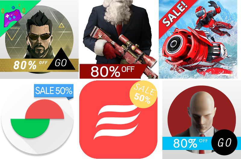Top Android apps and games on sale on Google Play starting at Rs. 10 / $0.99