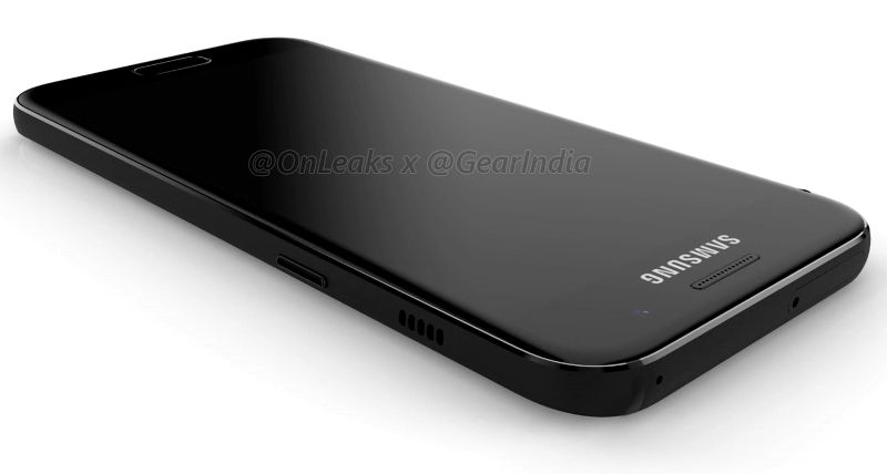 Samsung Galaxy A3 (2017) renders surface, shows curved ...