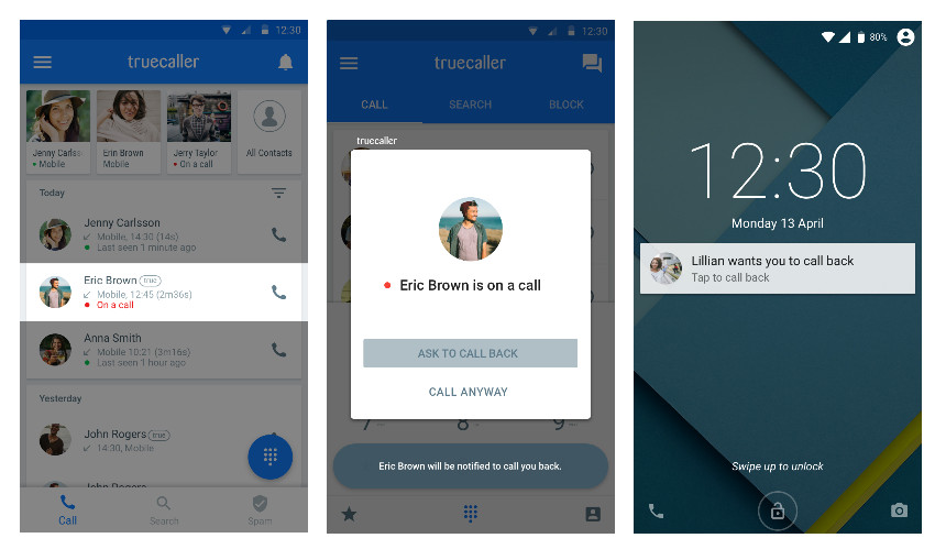 Truecaller for Android gets Call Me Back feature