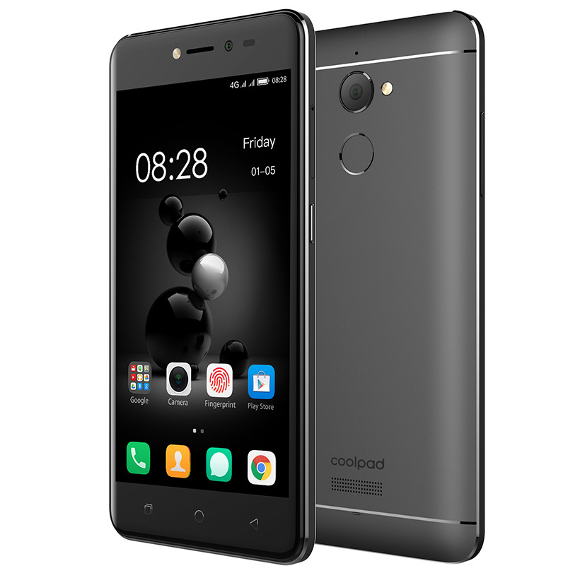 Coolpad Conjr with 5-inch display, 3GB RAM, metal body, fingerprint sensor, 4G LTE announced