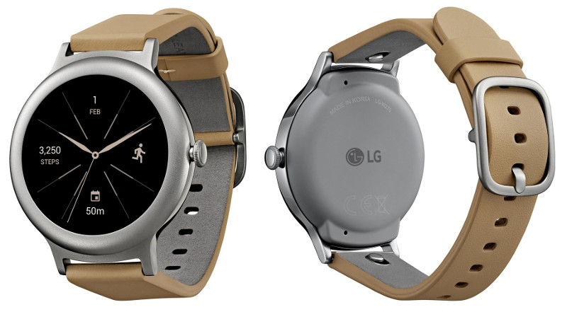 Lg Watch Style Android Wear 2 0 Smartwatch Press Images Surface Ahead Of February Announcement