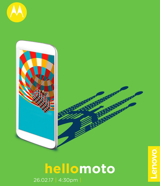 Motorola MWC 2017 event invite
