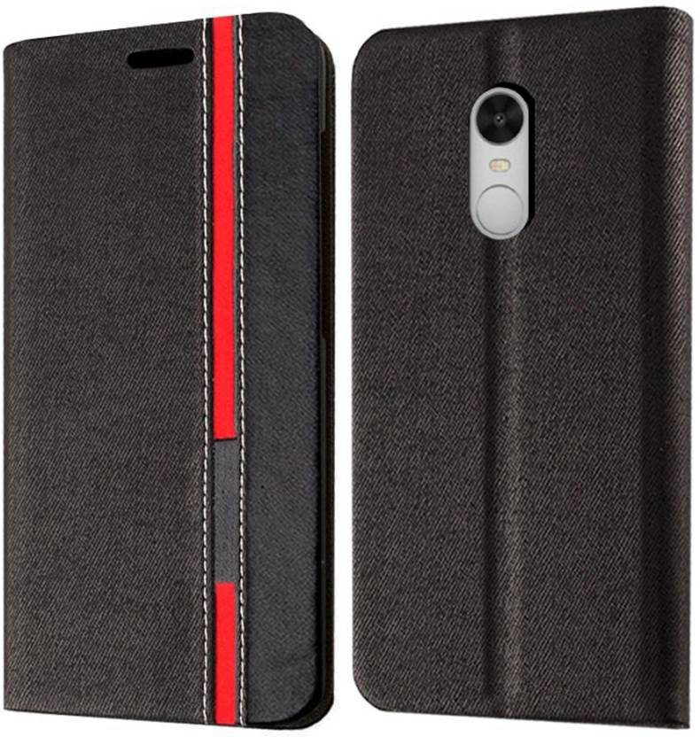 Redmi Note 4 Back Cover Febelo Flip Cover