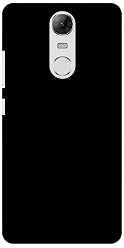 Redmi Note 4 Back Cover Johra Rubberised Matte Hard Black Back Cover