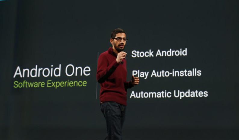 Sundar Pichai Android One
