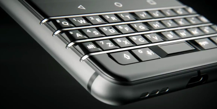 TCL teases BlackBerry Android smartphone with QWERTY ...