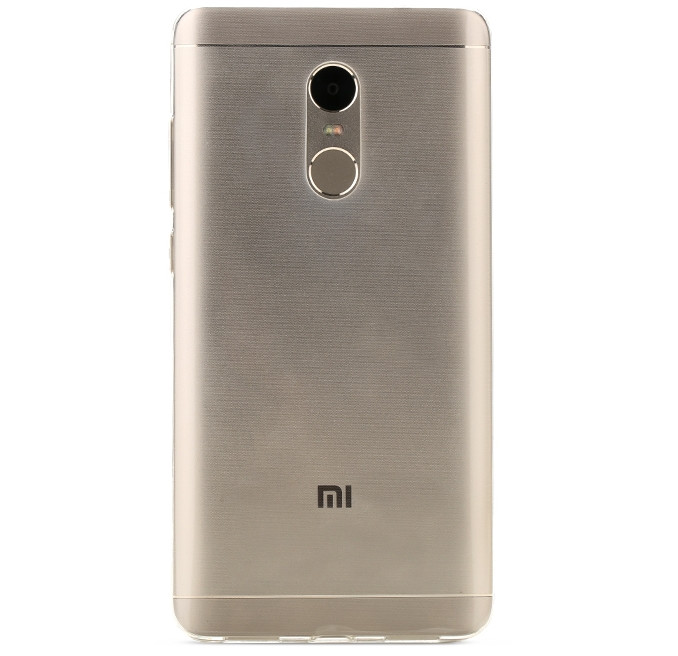 Xiaomi Redmi Note 4 Back Cover Redmi Note 4 Soft Clear Case
