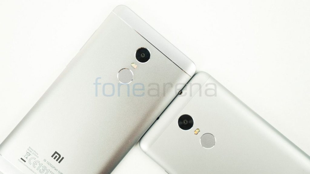 Redmi Note 4 vs Redmi Note 3 Fingerprint