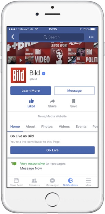 fb live stream web