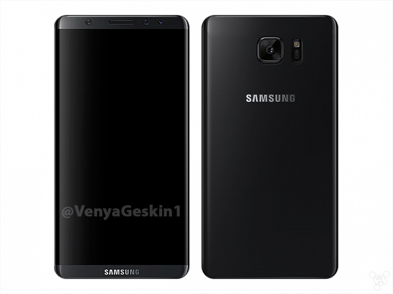 samsung galaxy S8 prototype