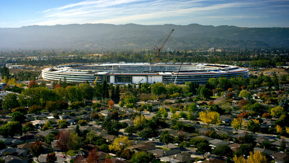 Apple Park Aerial view