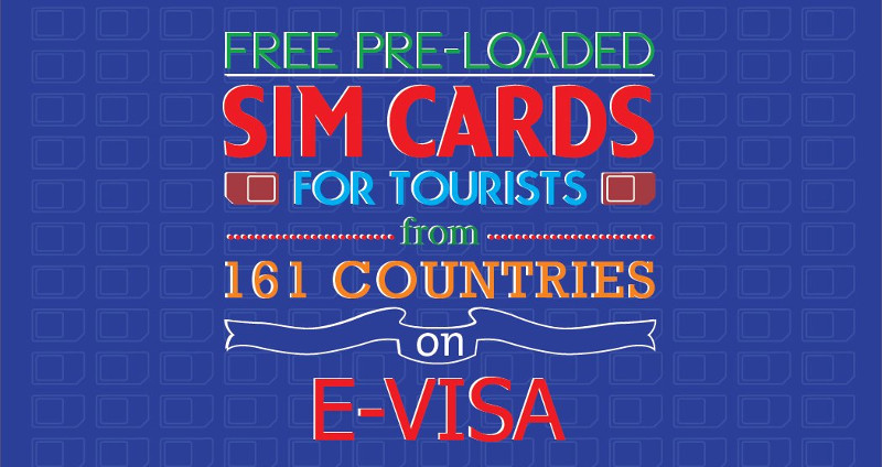 Free pre-loaded SIM cards for Tourists in India