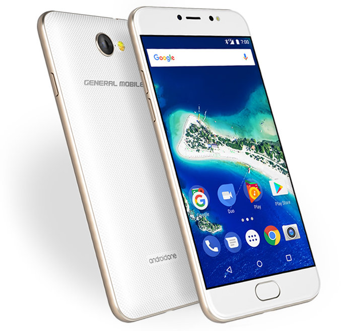 General Mobile Gm 6 Android One Phone With 5 Inch Display