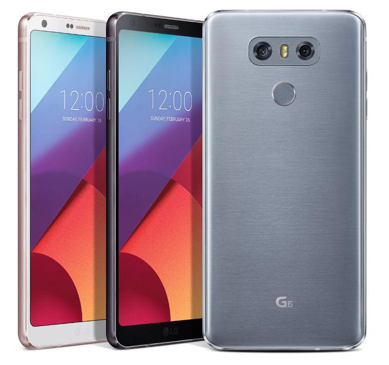Lg G6 With 5 7 Inch Qhd Display Snapdragon 821 Dual