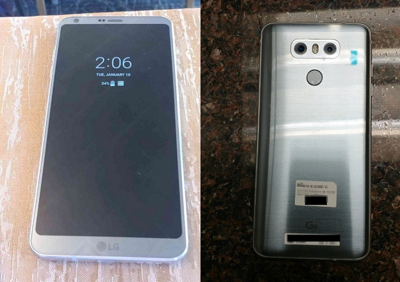 LG G6 live images highlight always on display, dual camera setup and more