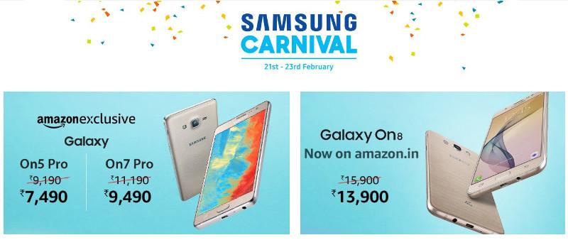 Samsung Carnival Amazon