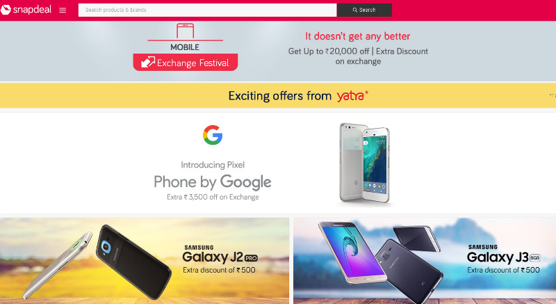 Snapdeal Exchange Fest