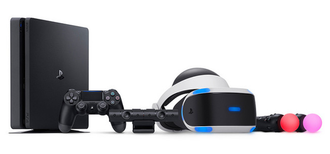 Sony PlayStation 4 Pro and PlayStation VR