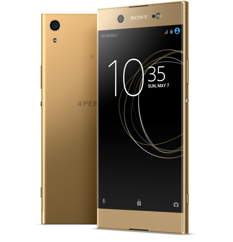sony xperia xa1 ultra with 6 inch 1080p display 16mp