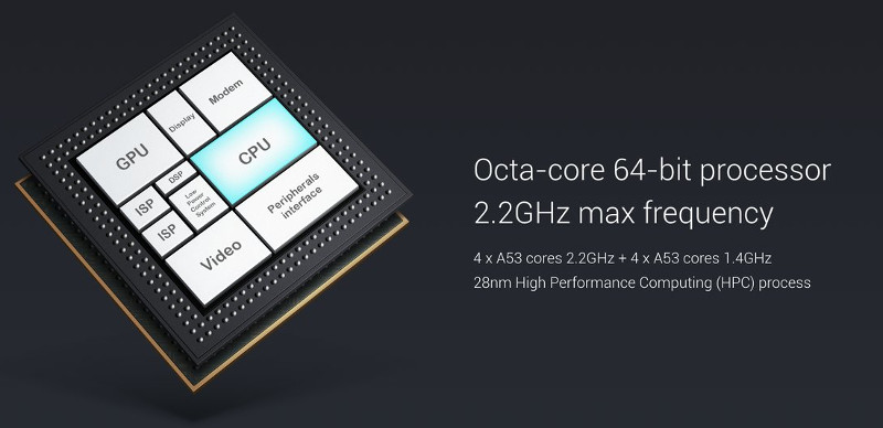 Xiaomi Surge S1 Octa Core 2 2ghz 64 Bit Soc With Mali T860