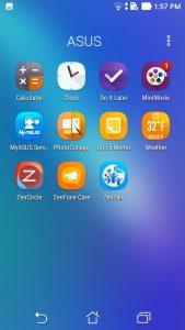 Zenfone 3s Max UI 1